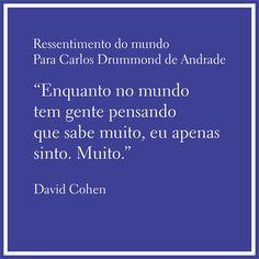 Conversas & Controversas: DAVID COHEN