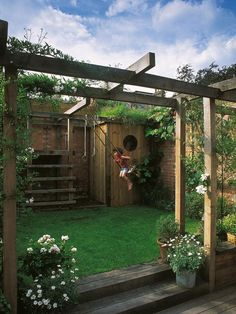 This could be so cute tucked away back in the corner of the yard