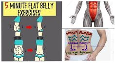 5 Minute Flat Belly Exercises