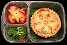 Lobster & Shrimp Pot Pie, #recipe packed in #EasyLunchboxes