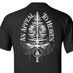 dc844bd3366 Black - An Appeal to Heaven T-Shirt