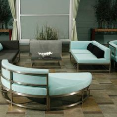 Awesome Contemporary Patio Furniture Composition Glamorous Indoor Patio Furniture Pretty Properties Essence: Contemporary Outdoor Furniture Cabana Club Extraordinary Patio Design Interesting Vintage Woodard Wrought Iron Patio Furniture Mediterranean Style ~ mistaker.net Furniture Inspiration