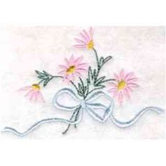 Free Embroidery Design: Flowers