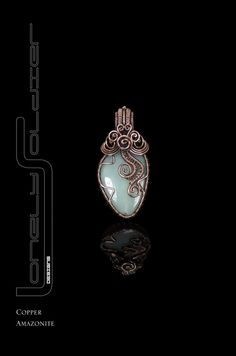 Amazonite Something Simple Collection by Lonely by MinervaBeadsUK