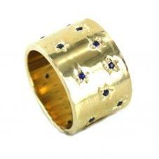 Stars Sapphire Ring