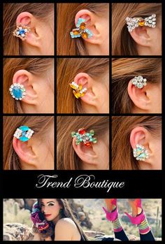 Jewelry Giveaway Ear Cuff trend boutique