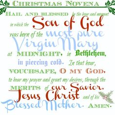 St. Andrew Christmas Novena- Begin the St. Andrew Christmas Novena and pray it 15 times from November 30th to Christmas Day. I made a printable you can download for free.