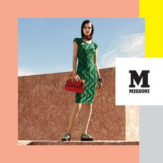 #MMissoni Advertising Campaign | Spring Summer 2014 Advertising Archives, Advertising Campaign, Summer 2014, Spring Summer, Beautiful Gowns, Missoni, History, Movie Posters, Pretty Dresses