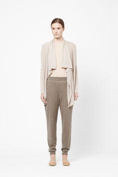 Cos: Long draped cardigan