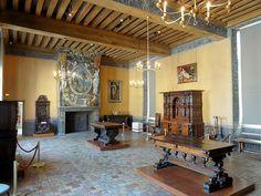 Château d'Ecouen interior , France