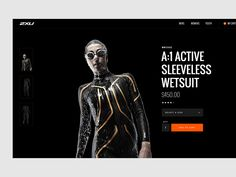 2XU product page by Nguyen Le