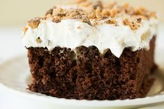 Better Than Sex Cake -  Use Hershey's Perfectly Perfect Chocolate Cake instead of Cake Mix for homemade version.