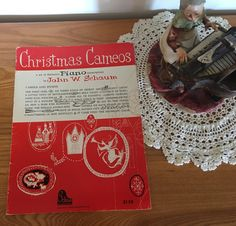 Christmas Cameos, Piano by John W. Schaum by JustClickThreeTimes on Etsy