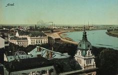 Old postcard of Arad Old Postcards, Romania, Paris Skyline, Places, Travel, Viajes, Destinations, Traveling, Trips