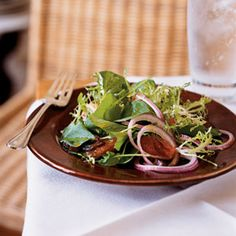 Watercress, Frisée, and Grapefruit Salad with Curry Vinaigrette | MyRecipes.com #myplate #vegetable #fruit