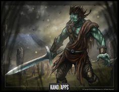 Zombie Slayer Highlander Boss Image #kanoapps #conceptart # boss #art #gameart #photoshop #zombie #digitalart #zombieslayer #zombieart Zombies, Game Art, Layering, Concept Art, Photoshop, Apps, Fictional Characters, Image, Conceptual Art
