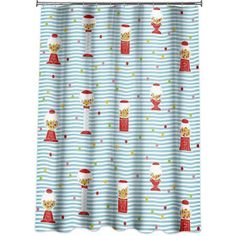 Allure Gumball Machine Shower Curtain
