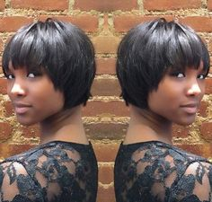 50 Most Captivating African American Short Hairstyles - Afro Hair Short Cropped Hair, Short Hair Cuts, Short Hair Styles, Short Bobs With Bangs, Very Short Bob Hairstyles, Layered Hairstyles, Easy Hairstyles, Choppy Hairstyles, Beautiful Hairstyles