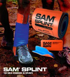 SAM SPLINT: The gold standard in splinting. Nice addition to any outdoor medical kit.