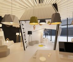 Light showroom CLARO design by Free Architects
