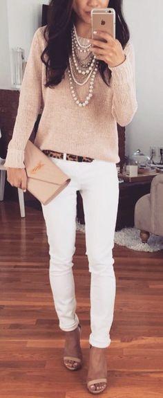 Blanc et beige