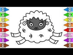 Drawing Sheep | Cute Sheep Drawing | How To Draw Sheep Step by Step - YouTube