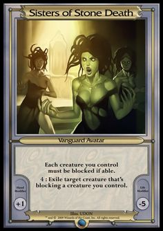 Other - Vanguard MTGO 2 - Sisters of Stone Death
