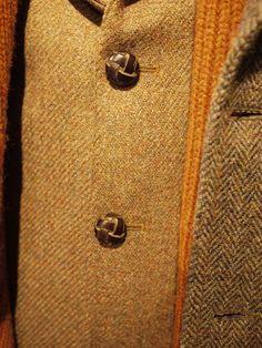 Grey Fox: Earl of Bedlam tweed. The tweed tea party: Wool House, The Campaign for Wool