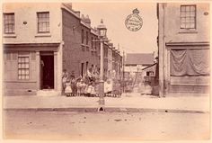 Arthur Place in Kent Street, Sydney 1875.  State Library of NSW.