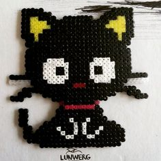 Chococat hama beads by sanyschwarz