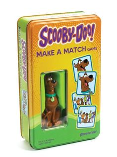 Scooby-Doo Make A Match Card Game Tin and Scooby Figurine for only $8.26 You save: $2.73 (25%) + Free Shipping