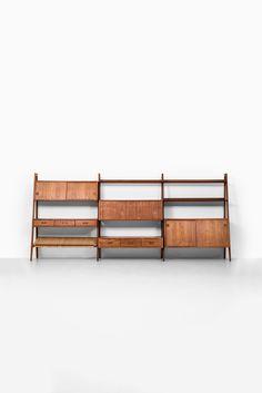 Arne Vodder & Anton Borg bookcase by Vamo at Studio Schalling