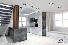 Projekt nowoczesnej kuchni Stairs, Home Decor, Stairway, Decoration Home, Room Decor, Staircases, Home Interior Design, Ladders, Home Decoration