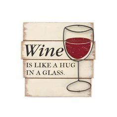 Wine aficionados will embrace this wood and metal plaque for display in their kitchens or wine cellars. Available at Hallmark Gold Crown.