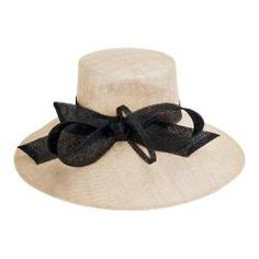 Women's San Diego Hat Company Dress Hat DRS1003 Natural/Black