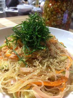 皆さんの作る辛いっ酢を作ってみました(^◇^) - 46件のもぐもぐ - 自家製鬼辛いっ酢を使った春雨サラダ by Jun1Nakada