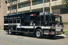 LAPD SWAT Truck.