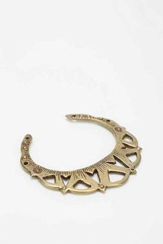 UrbanOutfitters Bing Bang Rising Moon Cuff Bracelet Found on my new favorite app Dote Shopping #DoteApp #Shopping