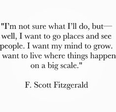 So often I forget what I want from life. I hope from now on I will remember it. Inspiring quote by F. Scott Fitzgerald.