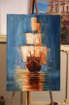 Canvas paintings are in trend and getting more and more popular among art lovers. Canvas painting is one of the most aristocratic styles in decorative… Acrylic Painting Canvas, Acrylic Art, Canvas Art, Painting & Drawing, Painting Tips, Oil Painting For Beginners, Painting Inspiration, Art Lessons, Amazing Art