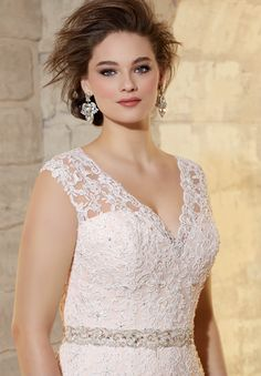 #Bridal Accessories #Style 11214 : #Beaded #Satin BELT  http://www.morilee.com/bridals/accessories/11214