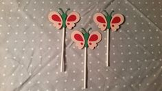 Check out this item in my Etsy shop https://www.etsy.com/listing/219387242/12-butterfly-cupcake-toppers