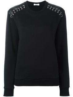 Mugler piercing detail sweatshirt