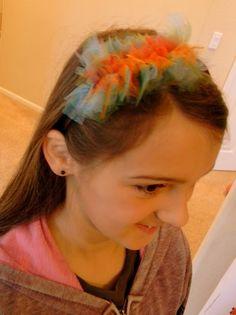Tulle Ruffle Headband