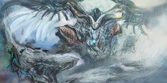 Resultado de imagem para final fantasy advent children dragon