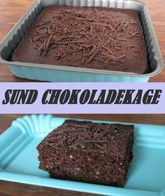 Smagsløgene vil næsten ikke tro på, at denne chokoladekage er sund. Den er vanvittig luftig og smager fantastisk - også selvom den er helt uden mel og sukker.