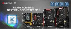 BIOSTAR Announces all its Intel 100-series Motherboards will Support Intel Next-Gen Processors - Full support for Next-Gen Intel Core processors with all existing BIOSTAR 100-series motherboards