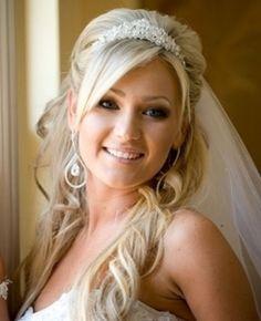 penteados para noivas meio preso meio solto - Pesquisa Google
