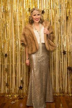 Gatsby Outfit - Sequin Maxi
