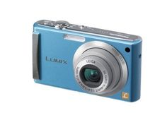 Panasonic Lumix DMC-FS3A 8.1MP Digital Camera with 3x MEGA Optical Image Stabilized Zoom (Light Blue) by Panasonic. $299.95. From the Manufacturer                  The Panasonix Lumix DMC-FS3 features 8.1-megapixels resolution, a f2.8 Leica DC Vario-Elmarit lens, 3x optical zoom, and Panasonic's Intelligent Auto Mode.  Also included is a new image-processing LSI, the Venus Engine IV, which contains a more advanced signal processing technology for rendering higher-quality i...